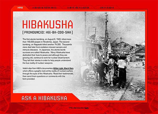 Ask A Hibakusha